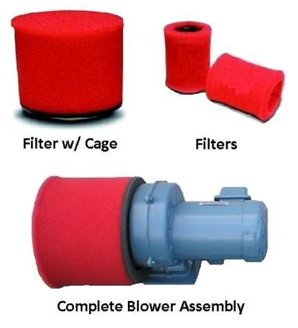 BLOWERS, FILTERS & CAGES